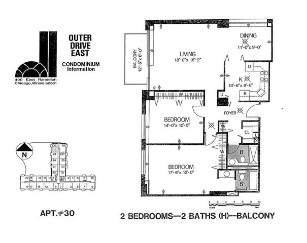 Tier 30 Floor Plan 30