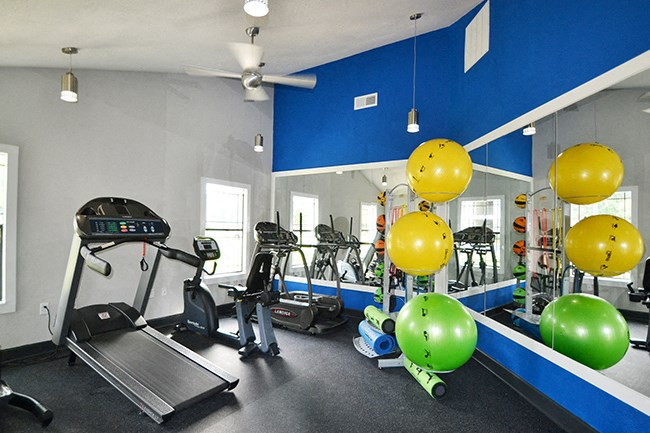 State-of-the-Art Fitness Center at Sterling Bluff Apartments, Savannah, GA,31406