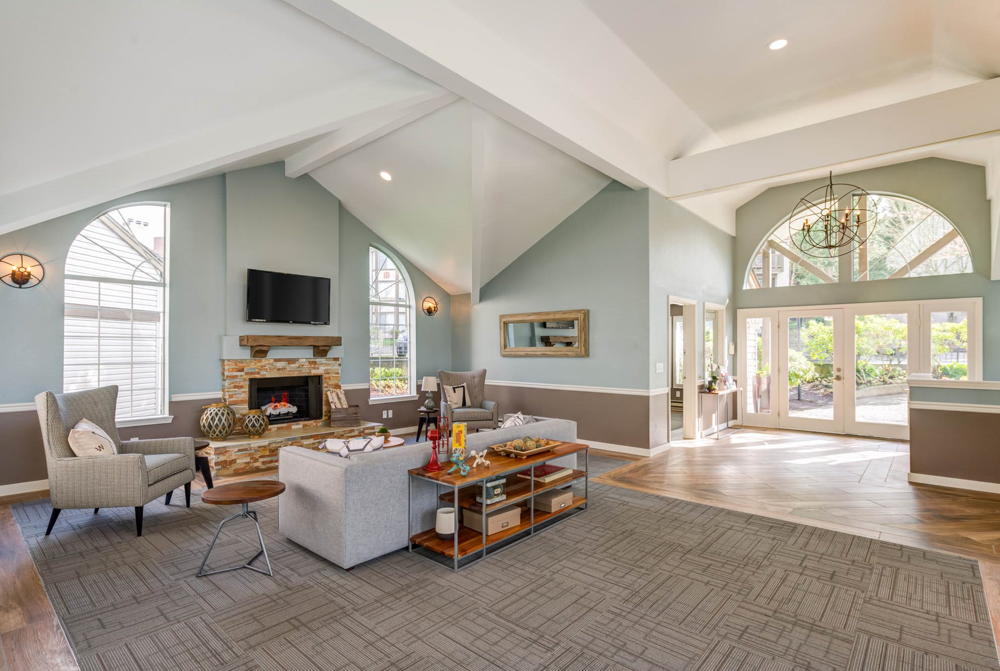 Spacious Clubhouse at Westview Village, Renton, WA,98055
