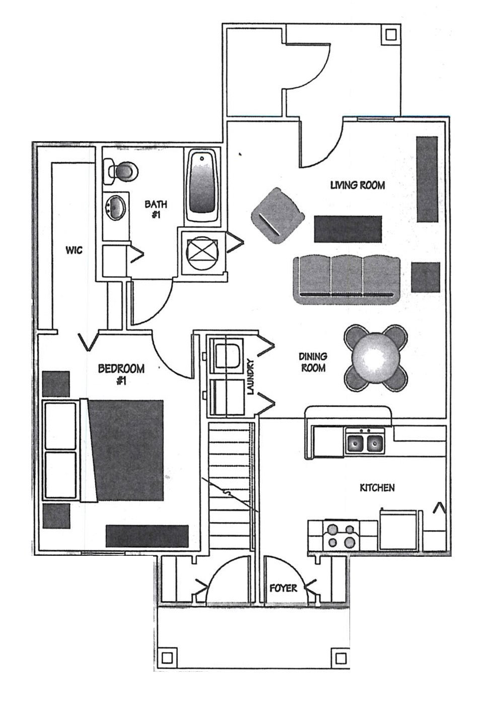 Floorplan at Palms at Lake Tulane, 1033 Hal McRae Loop, Avon Park, 33825