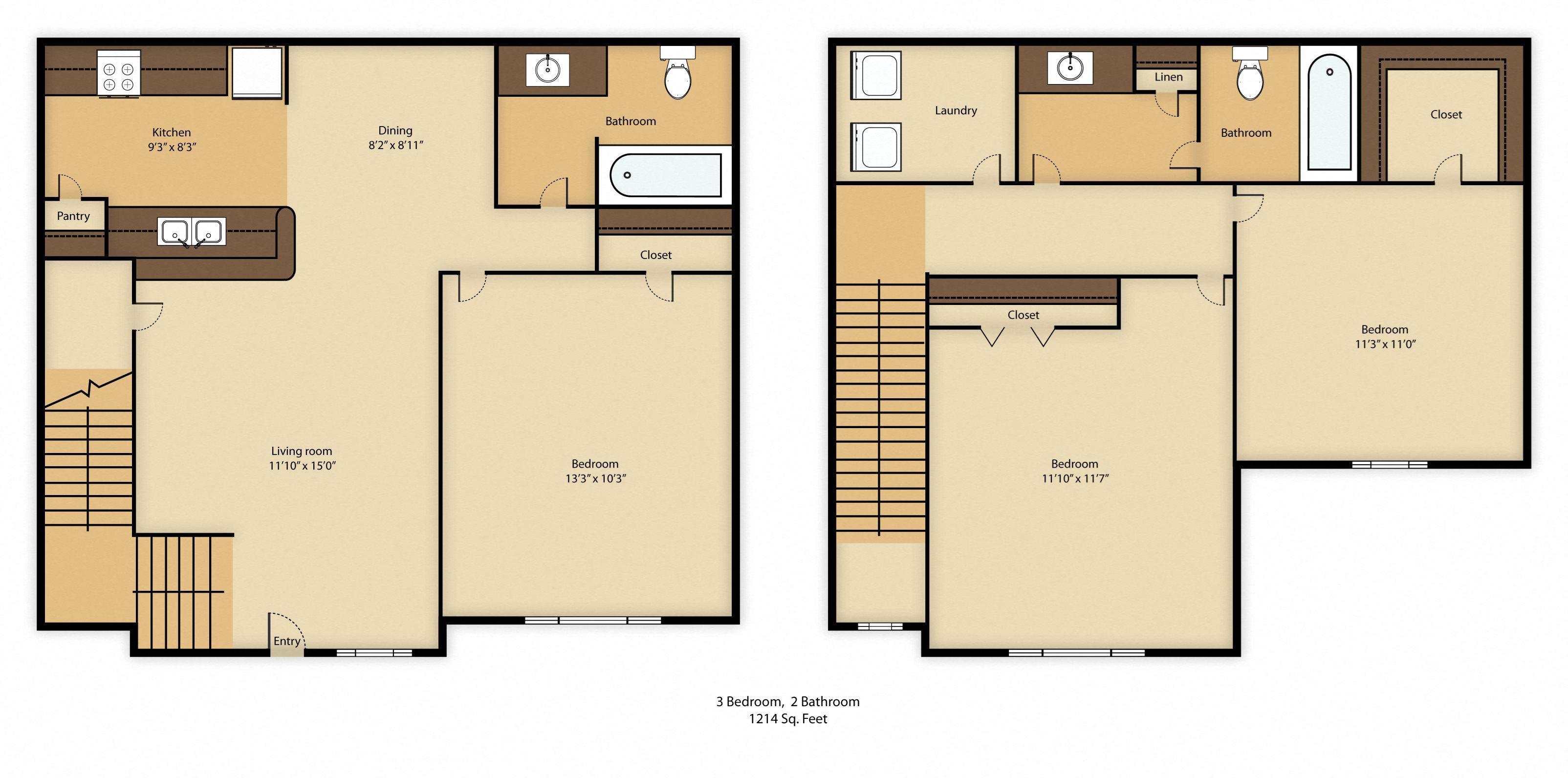 bedroom tx ridge dallas apartments forest