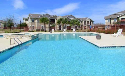 Sparkling Swimming Pool at Rosemont at Baytown, Baytown, Texas