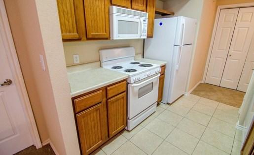 White Appliances at Primrose of Pasadena - Active Senior Living, Pasadena, Texas