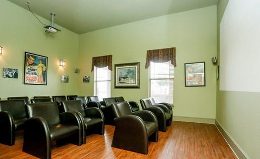 Movie Room at Primrose ofPasadena - Active Senior Living, Pasadena, TX, 77503