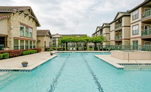 Olympic Size Pool at Primrose of Pasadena - Active Senior Living, Pasadena, 77503