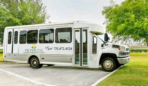 on-site resident bus service
