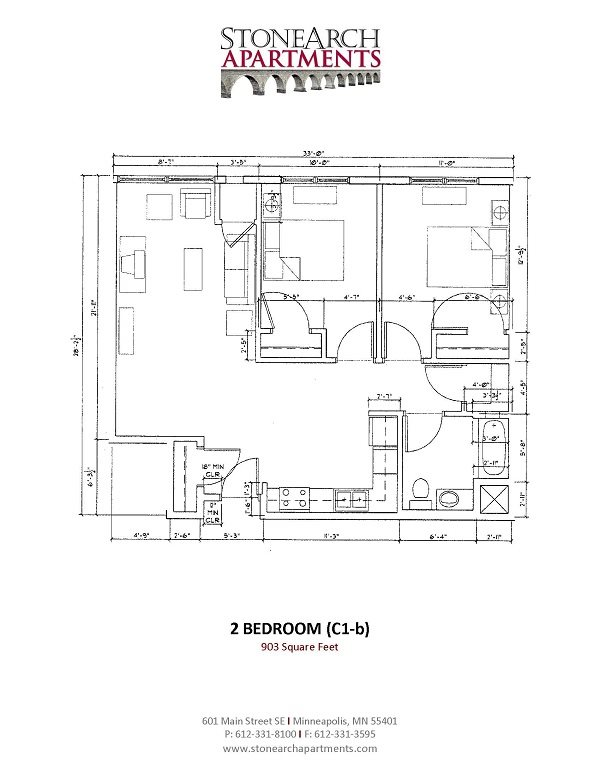 2x1 Floor Plan 14