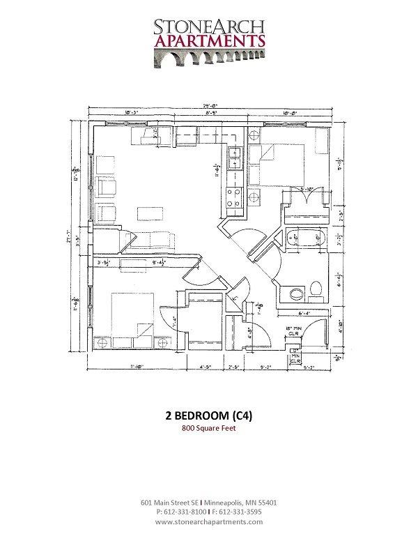 2x1 Floor Plan 19