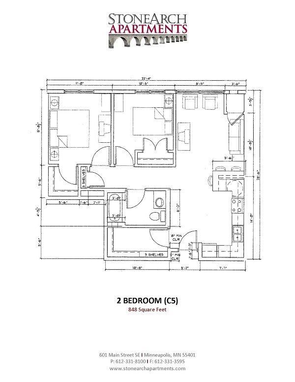 2x1 Floor Plan 20