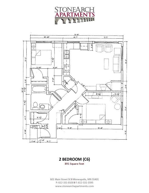 2x1 Floor Plan 21