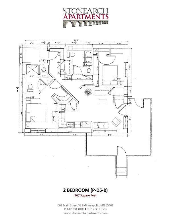2x2 Floor Plan 39