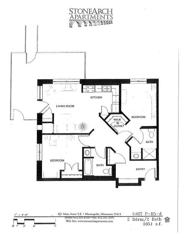 2x2 Floor Plan 41