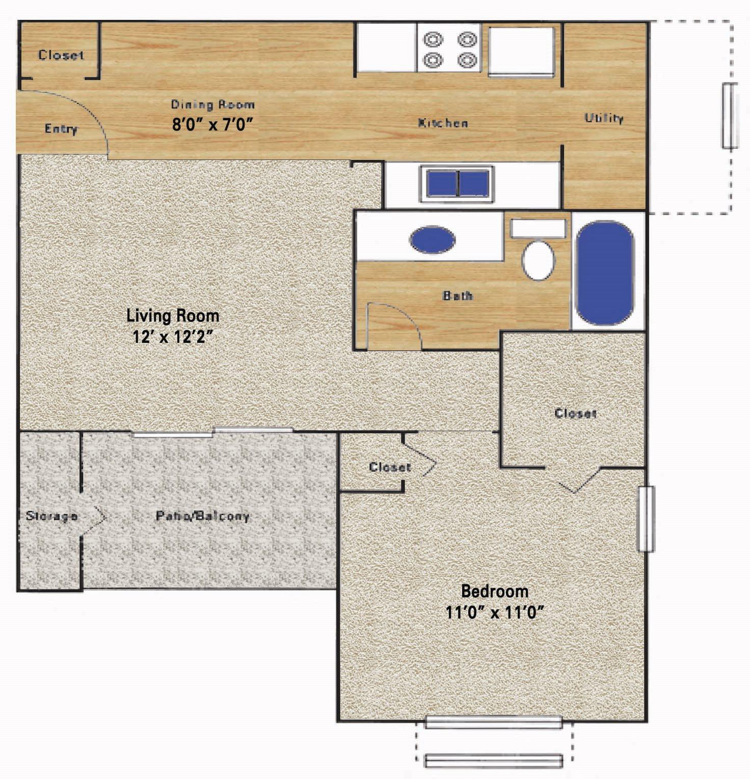 Willowgate Floor Plan 1