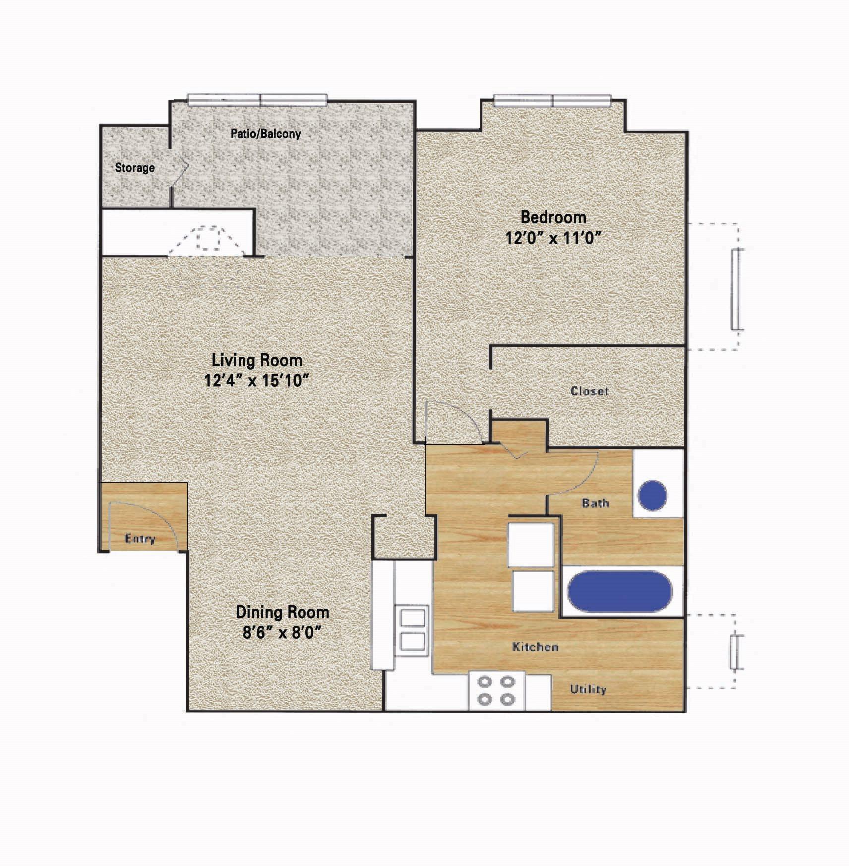 Frankford Floor Plan 4