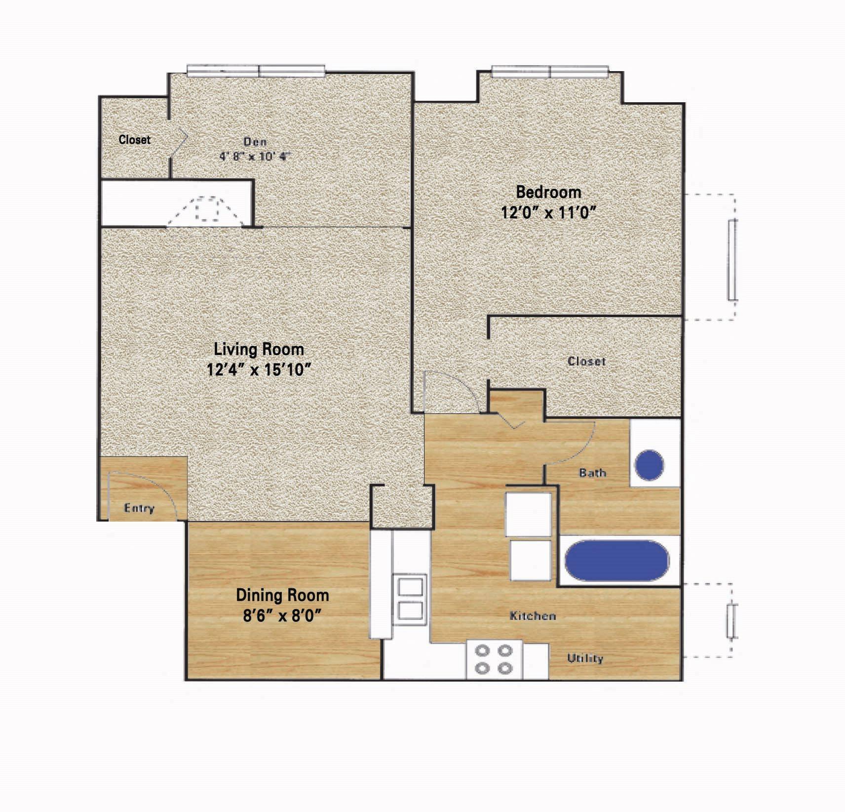 Rosemeade Floor Plan 5