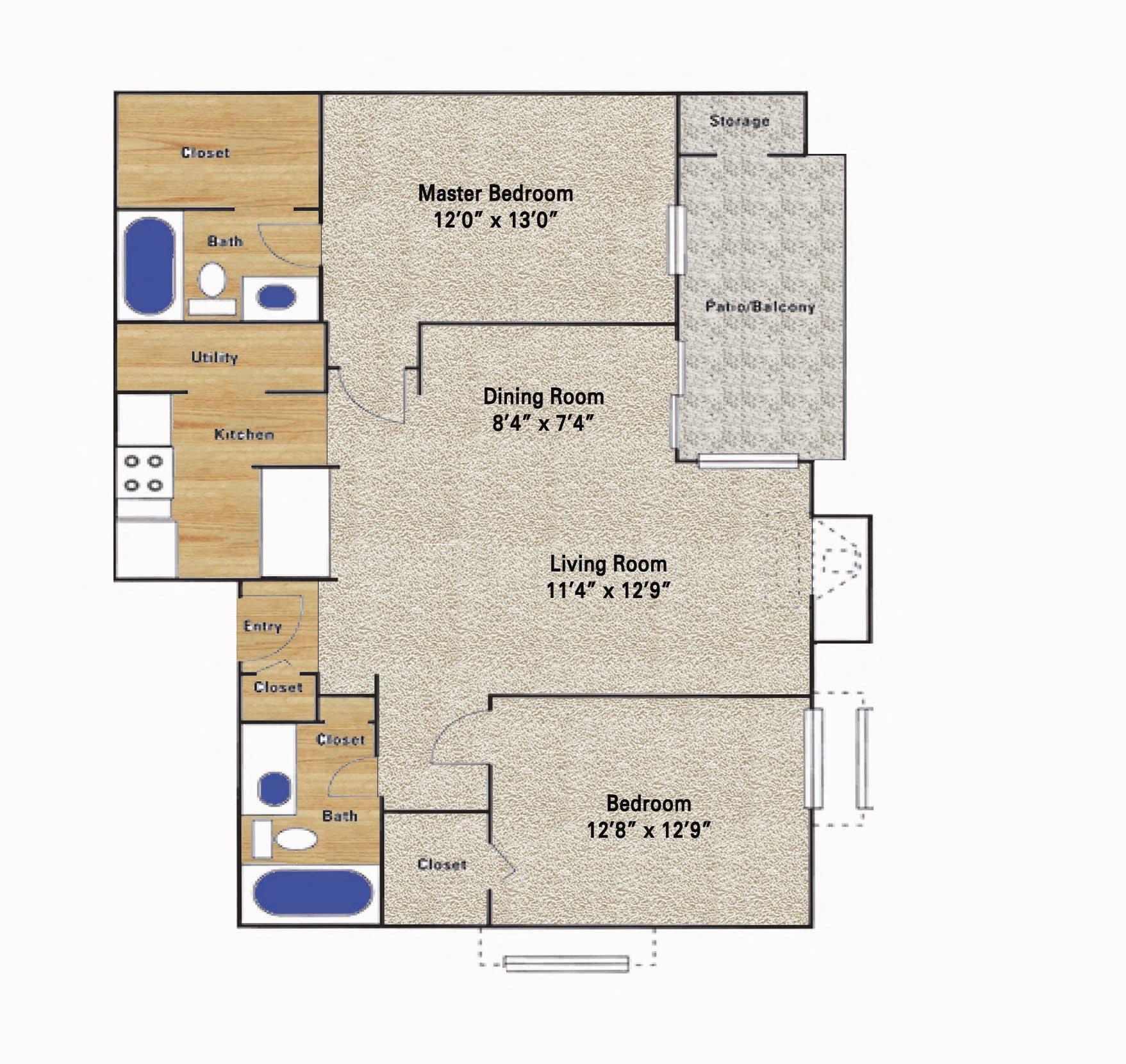 Timberglen Floor Plan 8