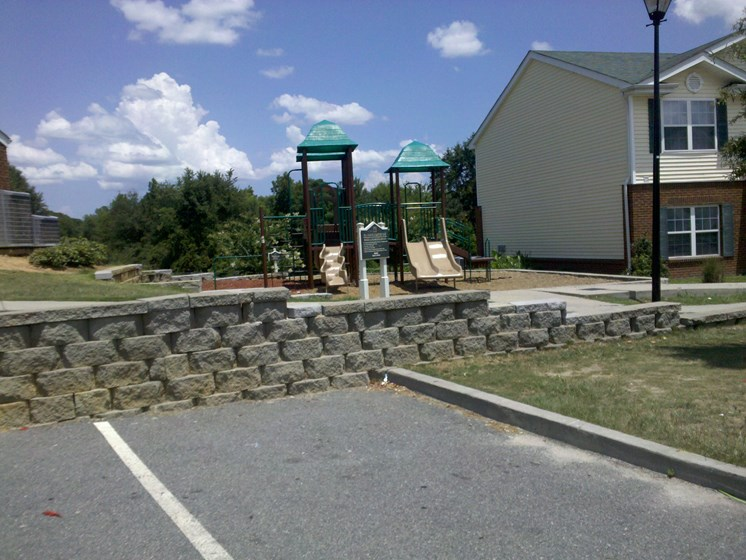 On-site Tot Lot at Lakeview Apartments, 136 N. 10th St, Lyons, GA 30436