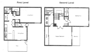Morning Glory Floorplan at Springhill Townhomes