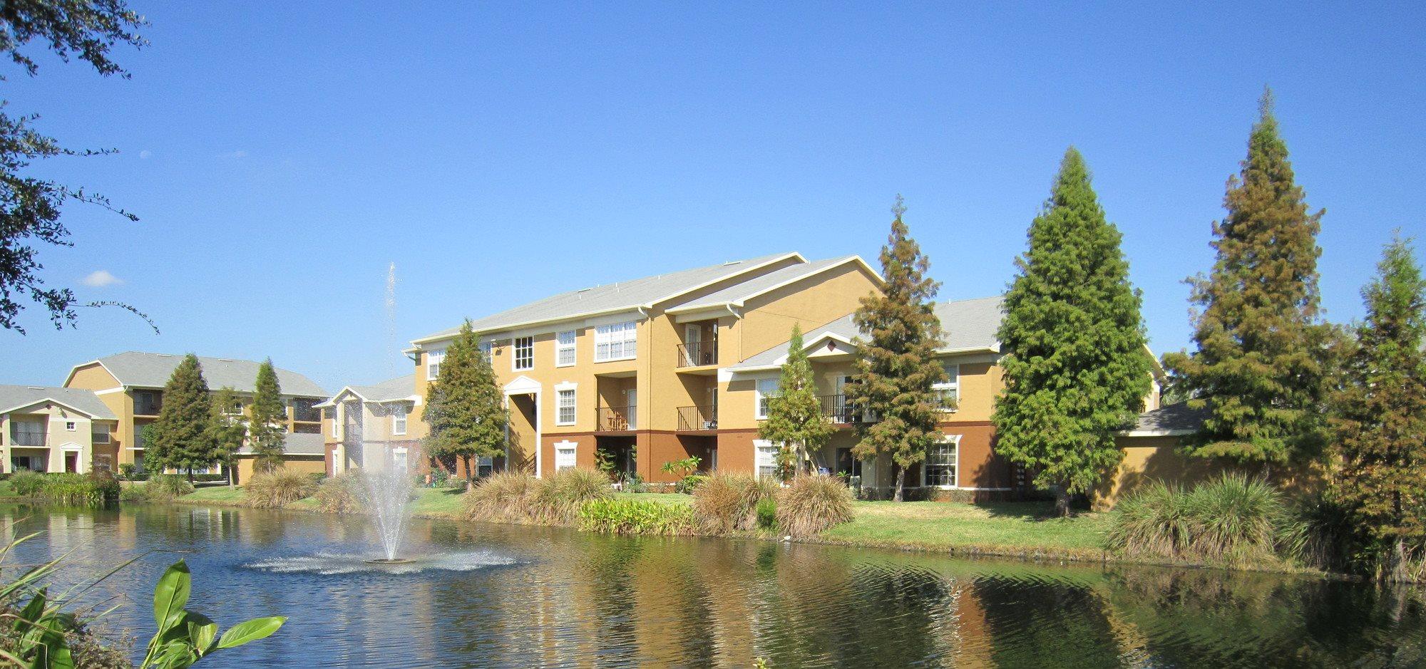 Beautiful Lake View at Plantation Gardens-luxury-apartments-Pinellas-Park-FL