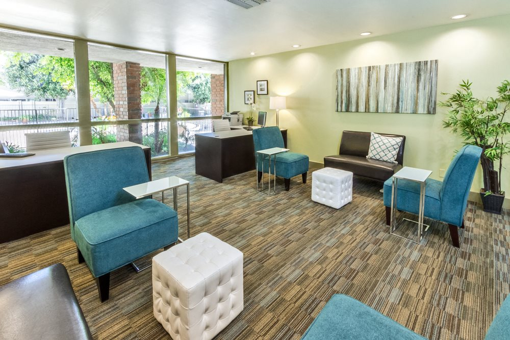 Large Living Room at Park Regency Club, Downey, CA,90242