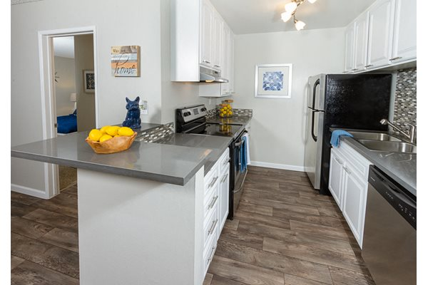 Bright, Fully Equipped Kitchens at Park Regency Club, Downey, CA,90242