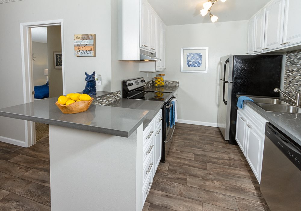 Apartments for Rent in Downey, CA - Park Regency Club Kitchen