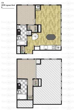 Two Bedroom - Loft