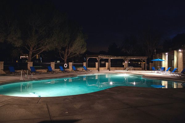 Night Pool, at The Fountains at Palmdale, Palmdale, CA,93550