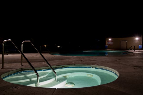 Poolside Area, at The Fountains at Palmdale, Palmdale, CA,93550
