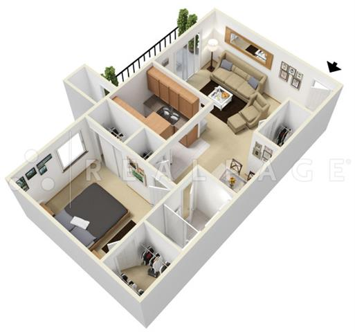 High Quality 1 Bedroom