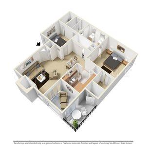 Two Bedroom DE