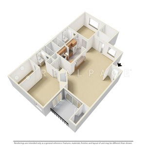 Two Bedroom FG