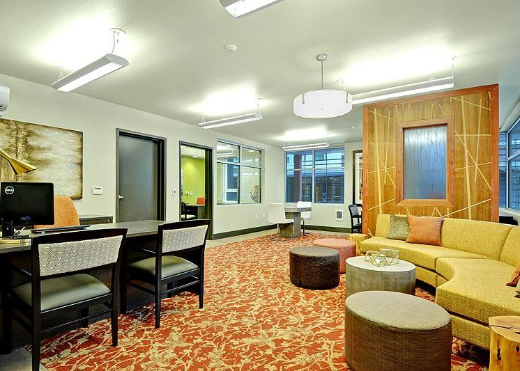 Spacious Resident Lounge