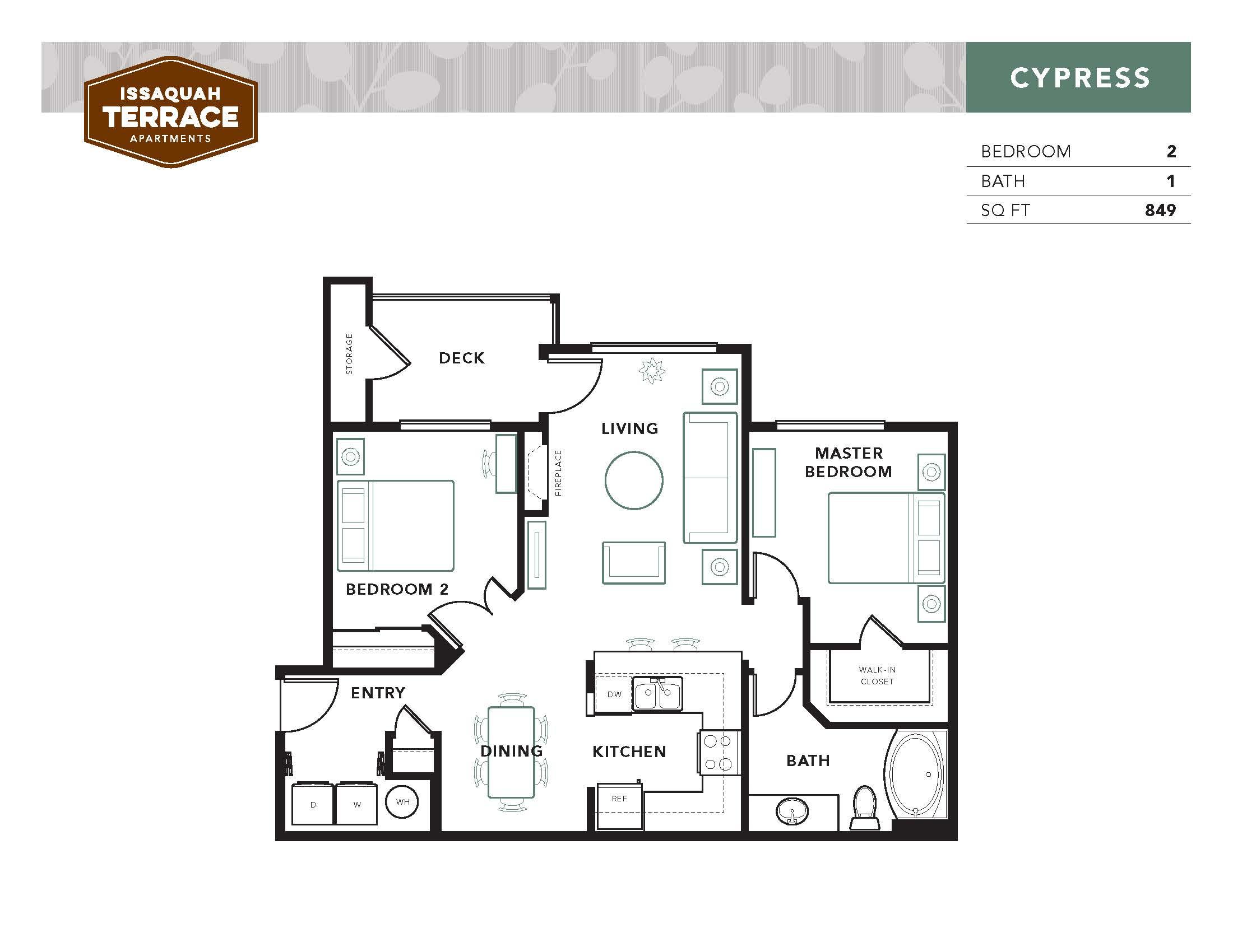 Suite A Floorplan