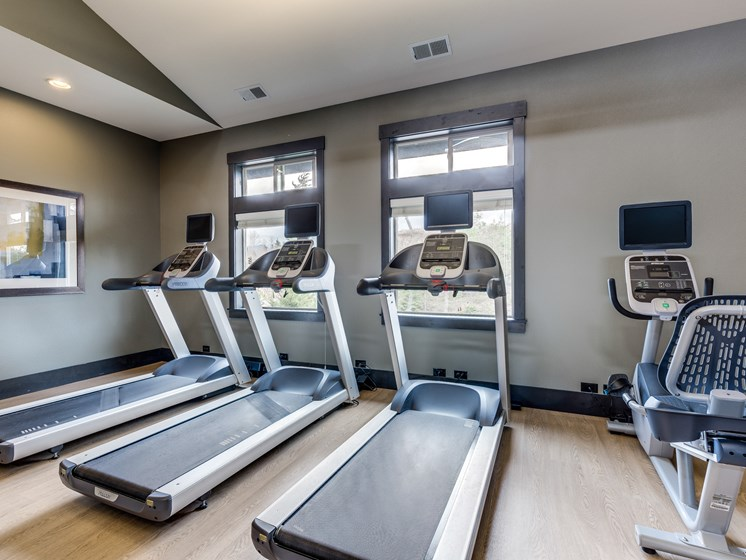 fitness center- cardio machines