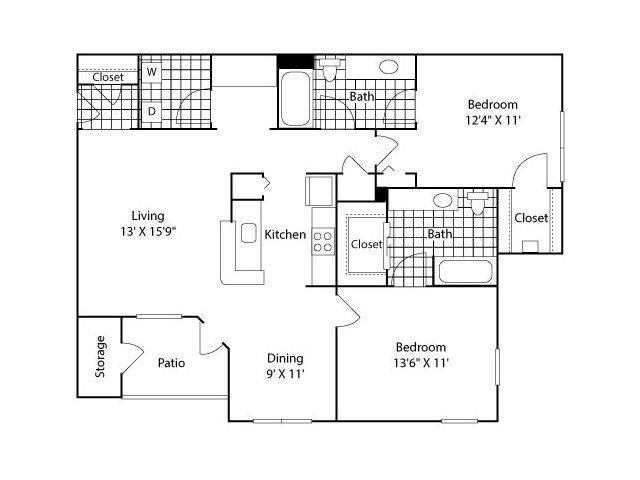 The Pont Vecchio Floor Plan 4