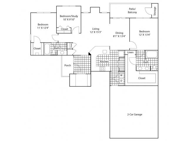 The Rialto Floor Plan 5