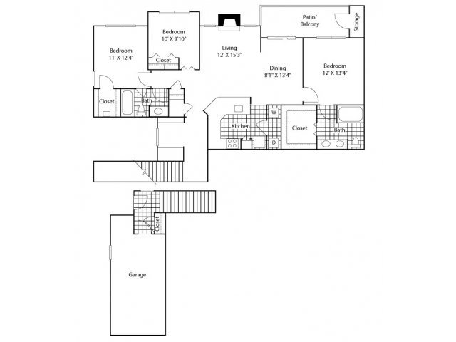 The Storbaelt Floor Plan 6