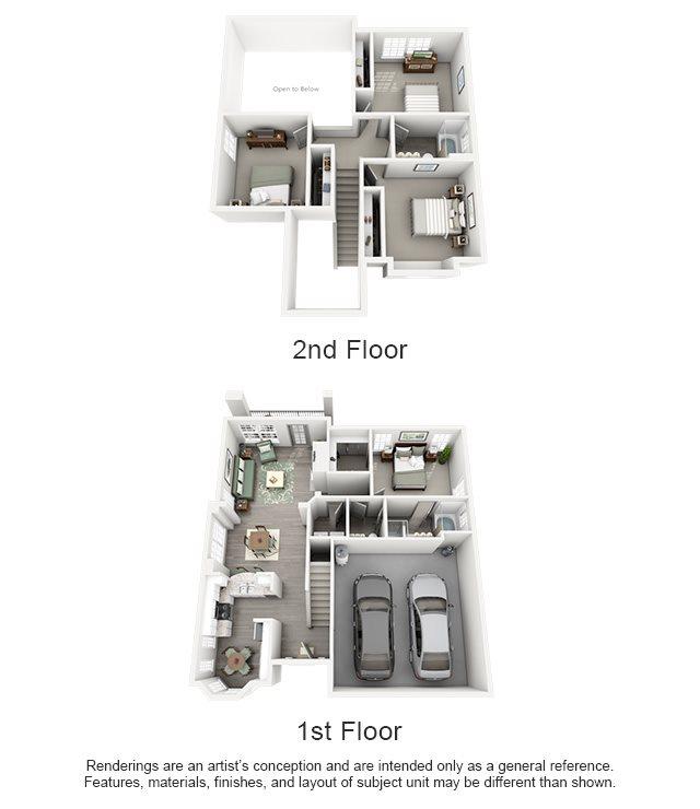 Overton Trails Apartment Homes - 4 Bedroom 2.5 Bath Apartment
