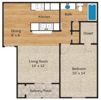 Lampasas Floor Plan 1
