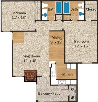 Neches Floor Plan 4
