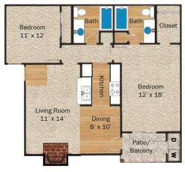 Sabine Floor Plan 3