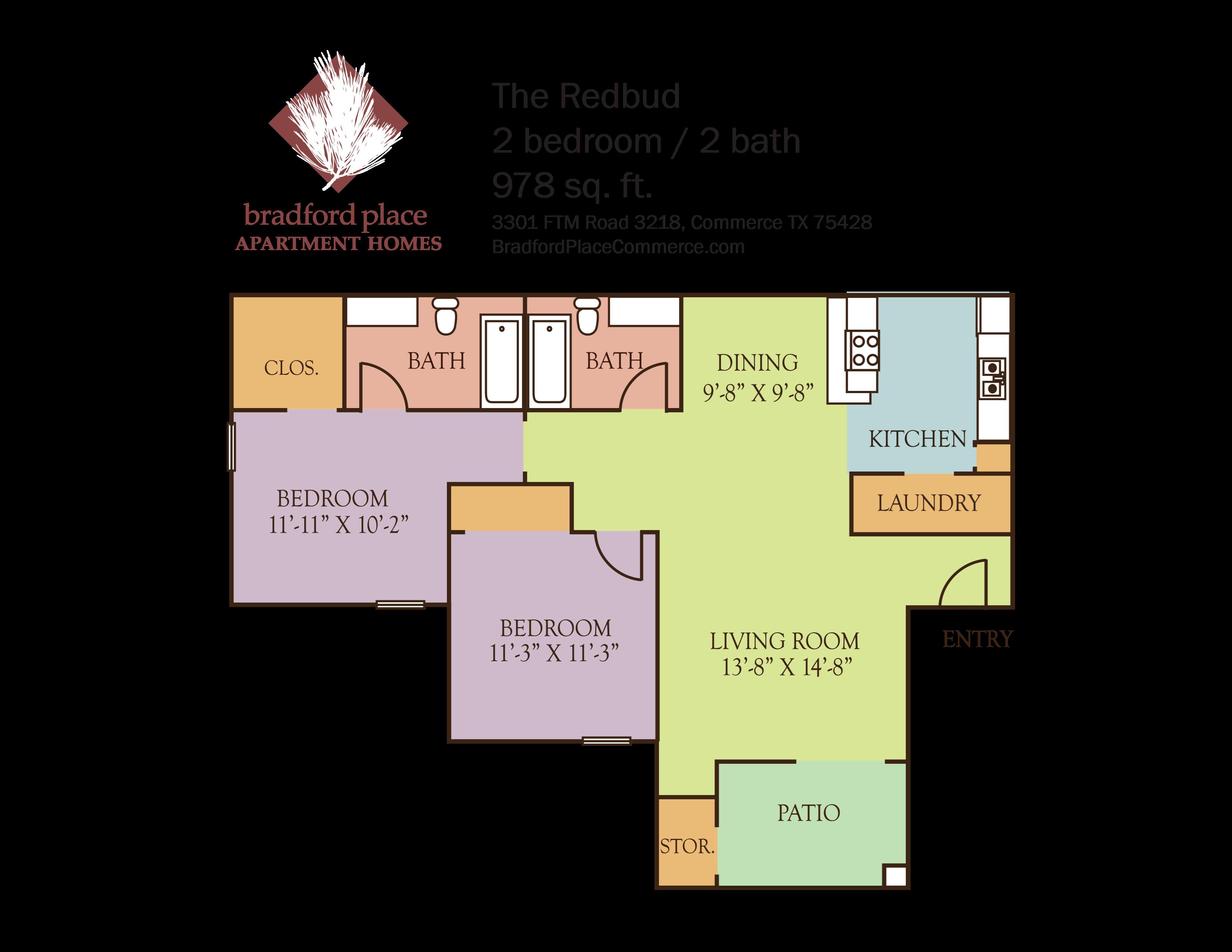 The Redbud Floor Plan 2