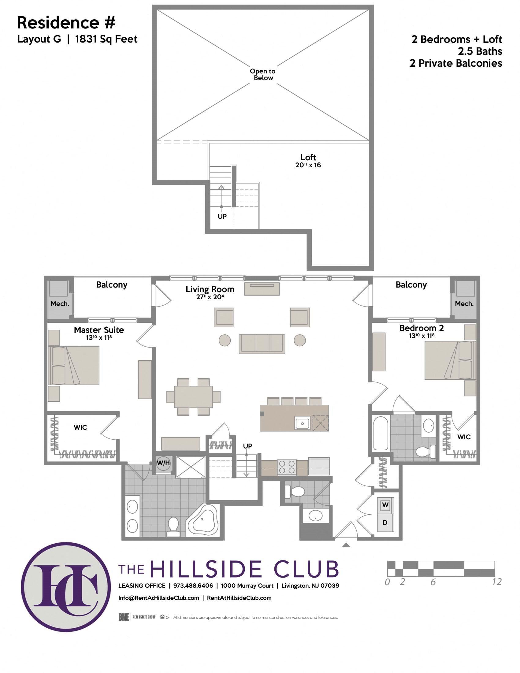 Layout G Floor Plan 2