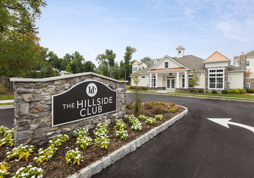 The Hillside Club, Livingston, NJ , apartment complex, rental community