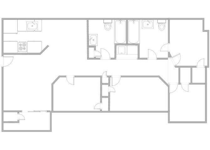 Harbison Gardens Apartments Floor Plans