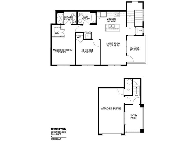 Templeton Floor Plan 2