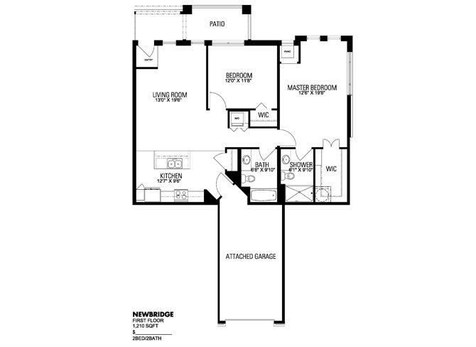 Newbridge Floor Plan 5