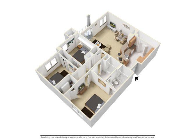 The Lakefront Floor Plan 4