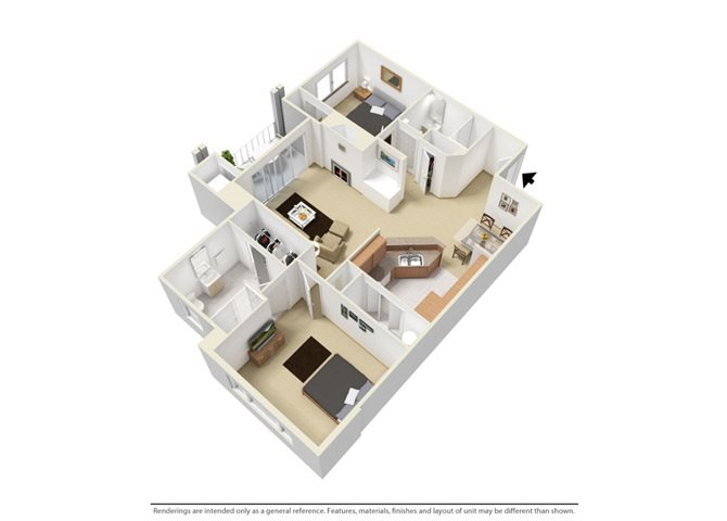 The Rivers Edge Floor Plan 3
